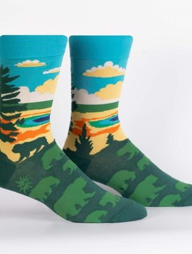 Grand Prismatic Crew Socks