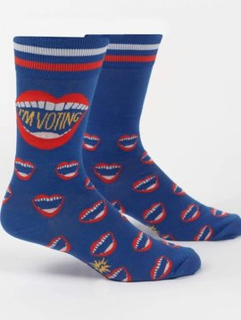 I'm Voting Crew Socks