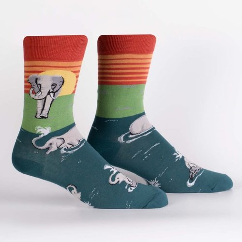 Make a Splash Crew Socks