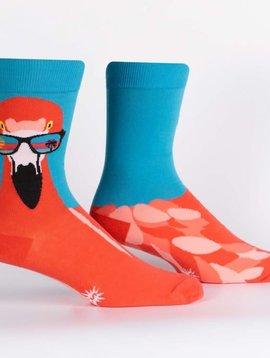 Ready to Flamingle Crew Socks