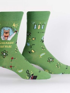 Trust Me, Llama Scientist Crew Socks