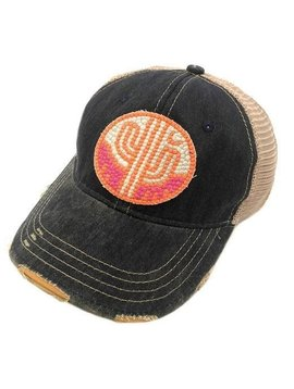 Sunset Cactus Ball Cap