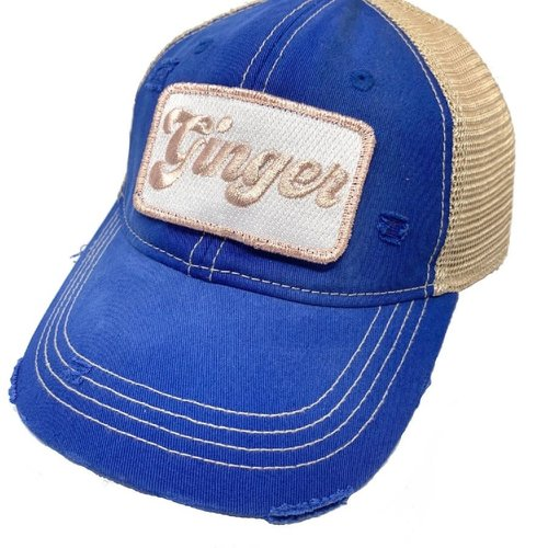 Ginger Blue Ball Cap
