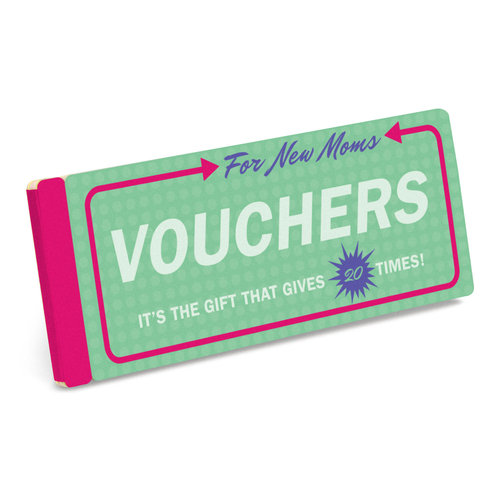 Vouchers for New Moms Gift Booklet