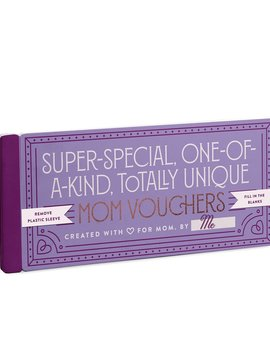 Fill in the Love Mom Vouchers Gift Booklet