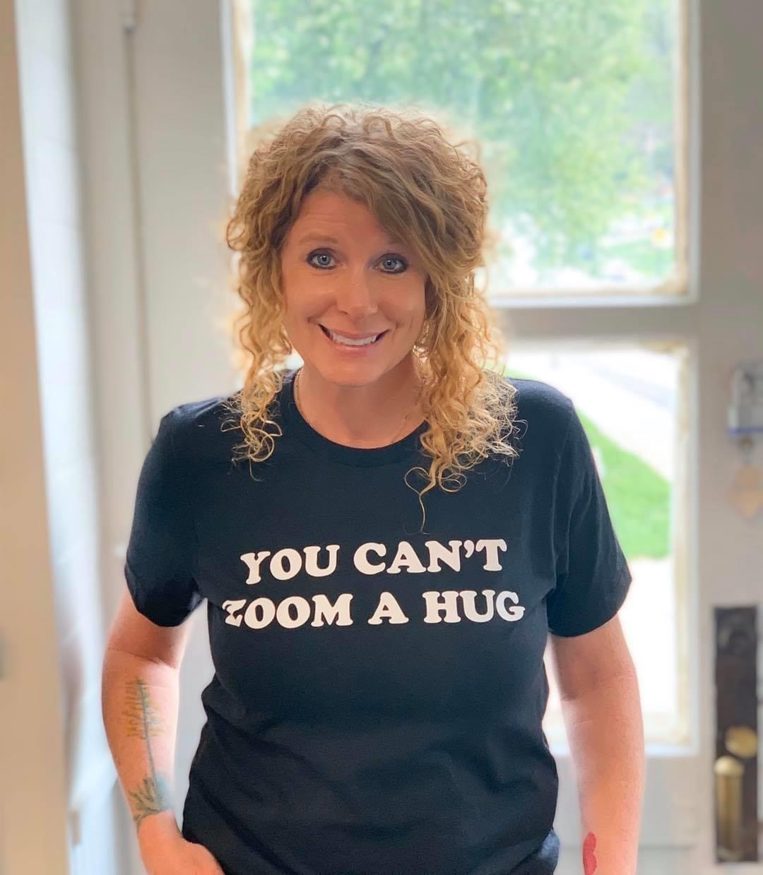 You Can't Zoom a Hug Tshirt