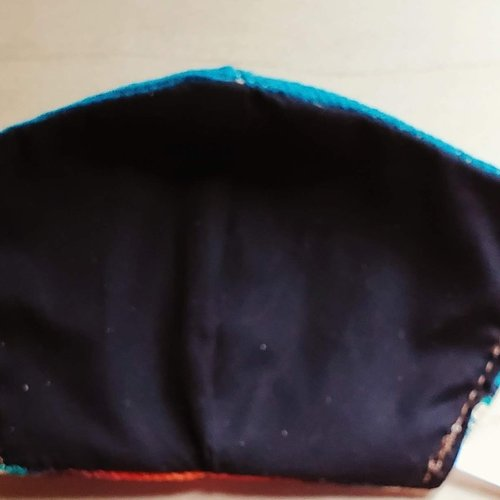 Multi Color Serape Face Mask Size Small / Medium