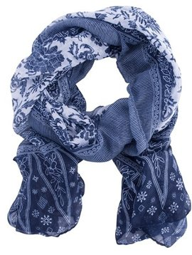 Insect Shield Navy Scarf Wrap