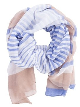 Insect Shield Stripe Scarf Wrap