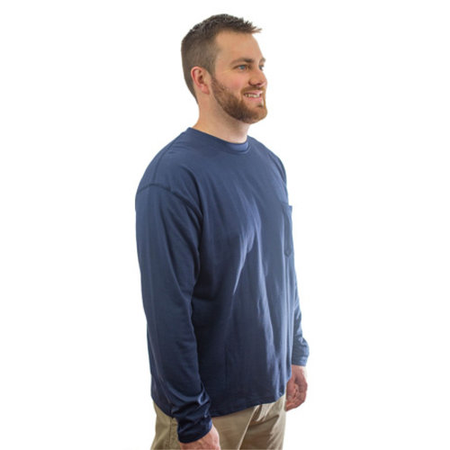 Insect Shield Long Sleeve Pocket Tee - Men's UPF Dri-Balance Shirt