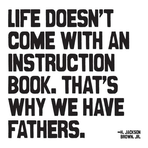 Life Doesn't Come with an Instruction Book Inspirational Card