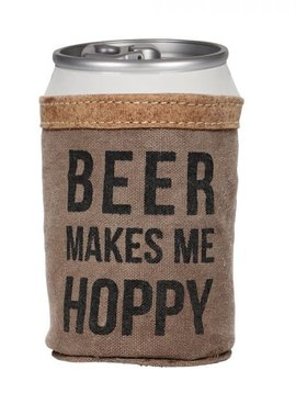 Beer Makes me Hoppy Koozie