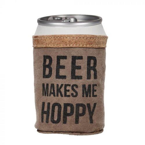 Beer Makes me Hoppy Koozie