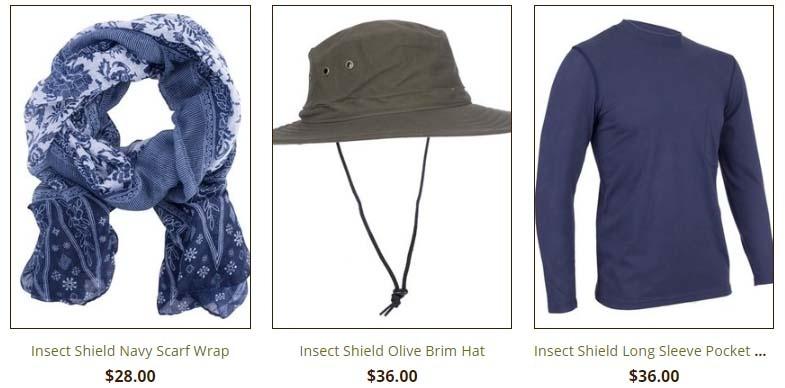 Insect Shield Hat Shawl Shirt Cactus Creek Weston MO