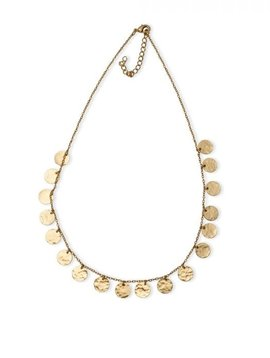 Golden Coined Necklace