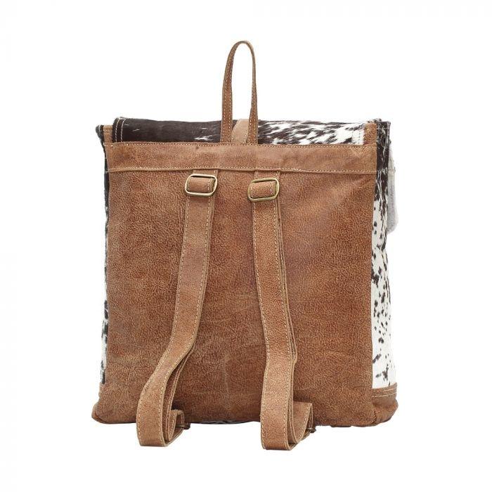 Cowhide Back Pack Bag