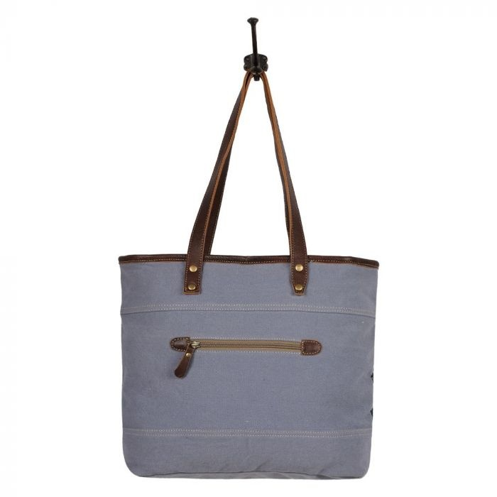Neville Chevron Tote Bag