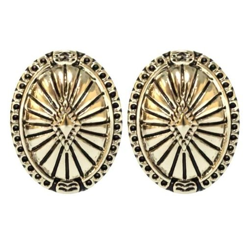Antique Gold Stud Earring