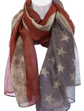 Old Glory Stars & Stripes Scarf