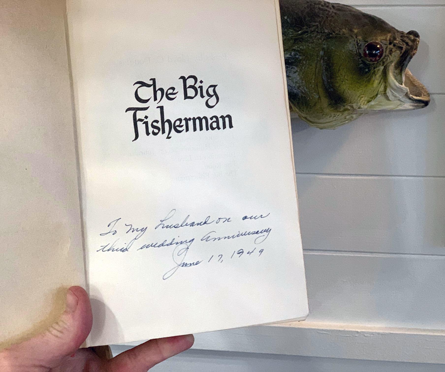 The Big Fisherman Vintage Book