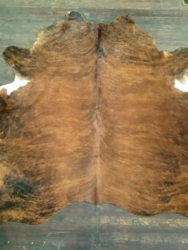 Red Brindle Cowhide 2575