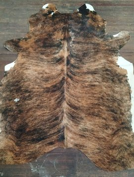 Dark Brindle Cowhide 2577
