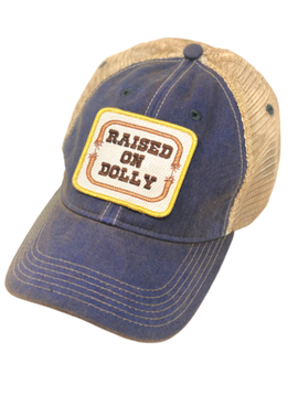Raised on Dolly Patch Cap