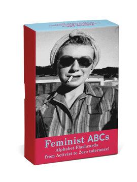 Feminist ABC Alphabet Flash Cards