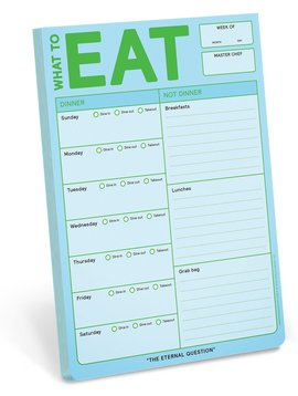 What to Eat Classic Note Pad