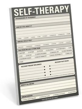 Self Therapy Classic Note Pad
