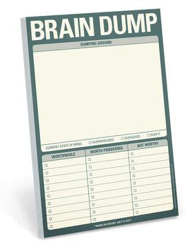 Brain Dump Classic Note Pad