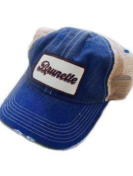 Brunette Patch Cap