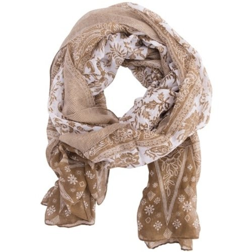 Insect Shield Taupe Scarf Wrap