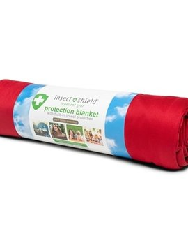 Insect Shield Red Protection Blanket