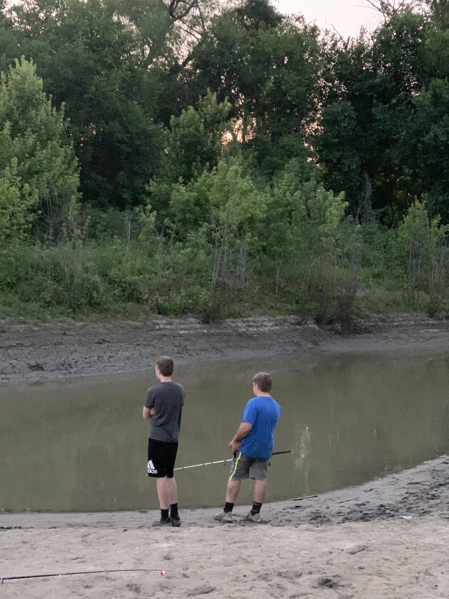 Fishing on the Missouri River