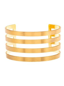Cut Out Cuff Gold