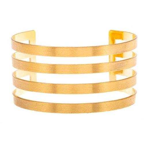 Cut Out Cuff Gold