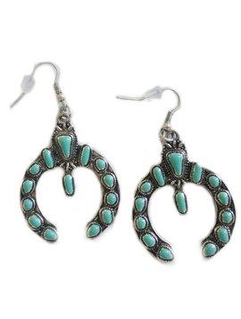 Jamestone Turquoise Dangle Earring