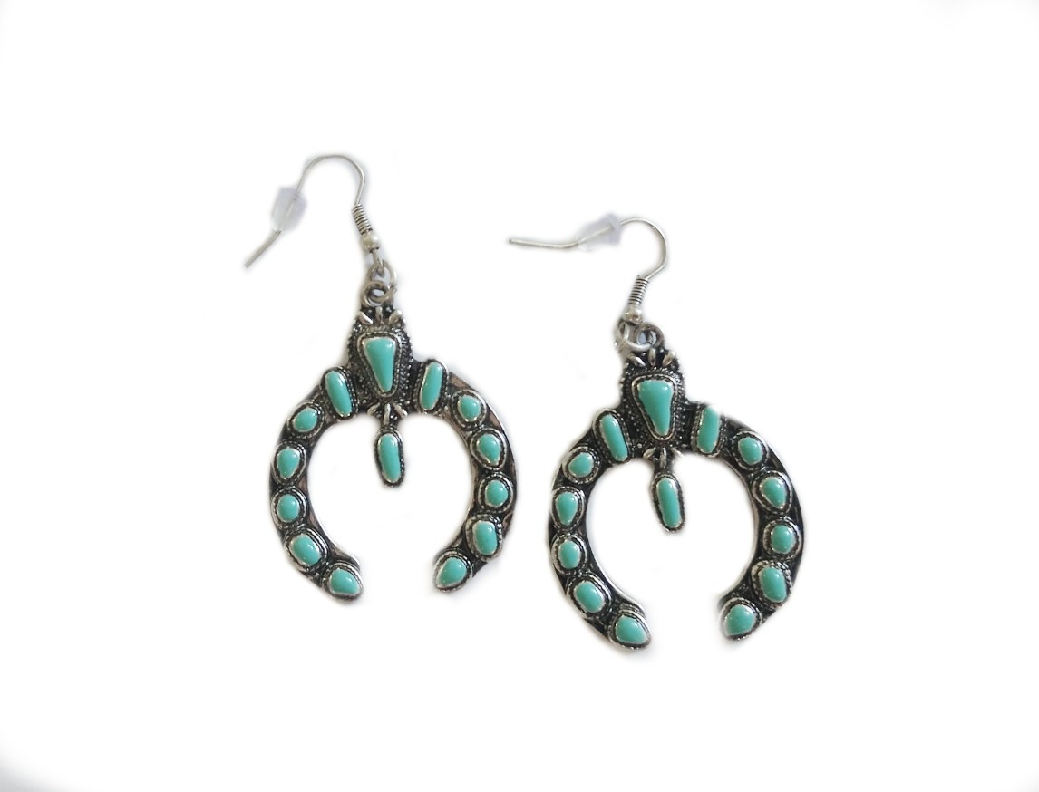 Jamestone Turquoise Dangle Earring