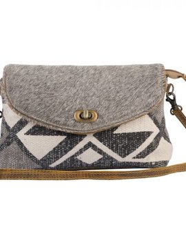 Gray Clandestine Small Crossbody Bag