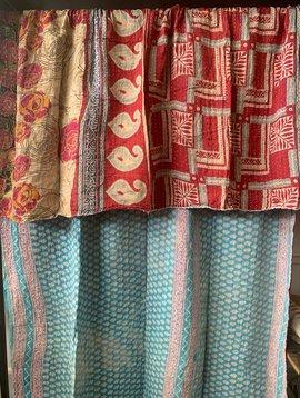 Kantha Sari Throw #263