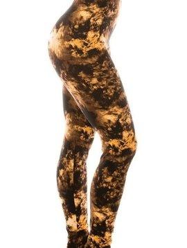 CURVY Amber Tie Dye Legging
