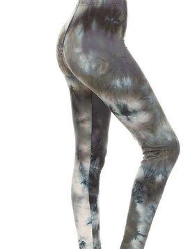 CURVY Smoky Tie Dye Legging