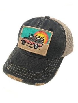 Sunset Land Rover Patch Cap Navy
