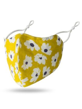 Sunshine Floral Cotton Mask