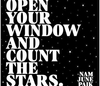 Open Your Window Inspirational Card