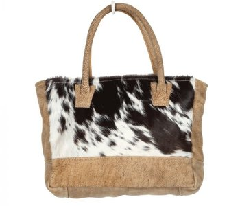 Classic Cowhide & Leather Purse
