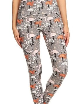 Let's Flamingle Yoga Legging