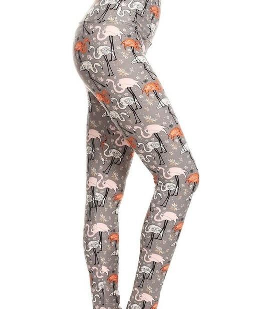 Let's Flamingle Yoga Legging
