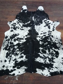 Black + White Spotted Cowhide 2590
